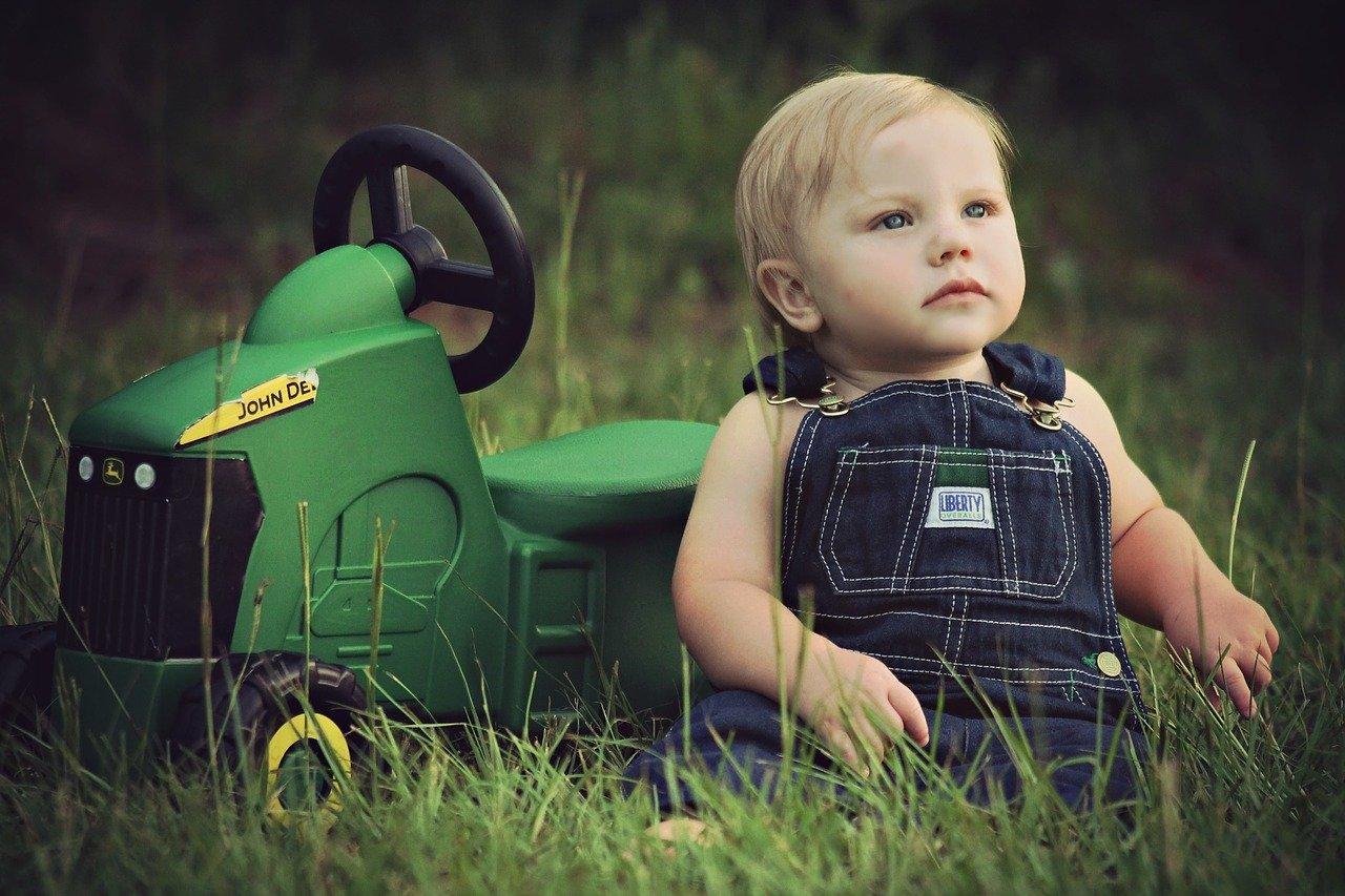 meilleur tracteur à pédales enfant